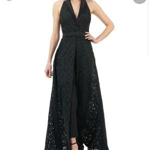 NWOT Kay Unger jumpsuit gown